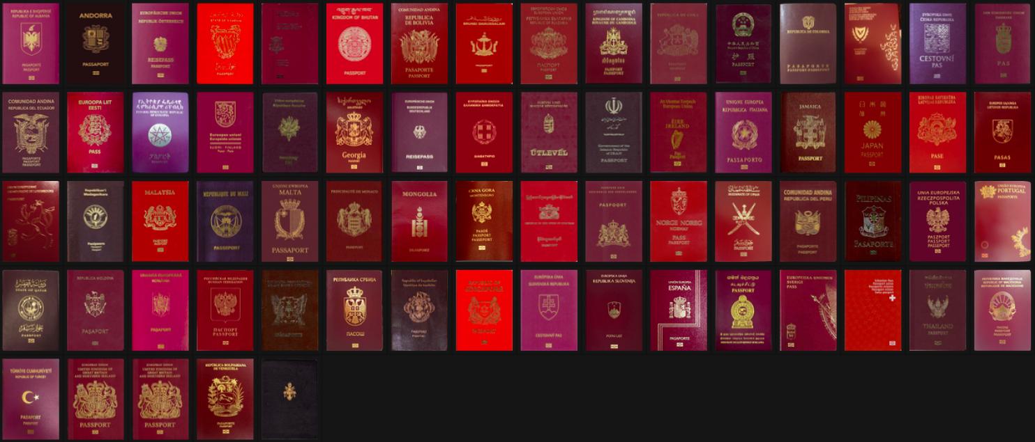 """Визуализация: """"Влиятельность паспорта"""""""